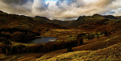 Photograph - Blea Tarn Sunset by John Collier