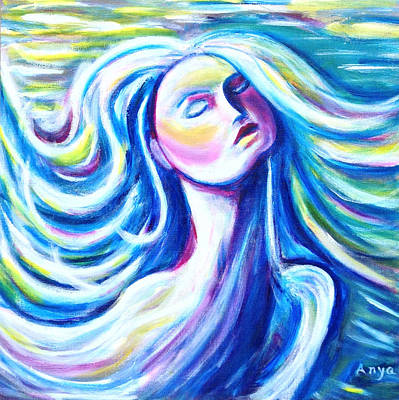 Painting - Blowing In The Wind by Anya Heller