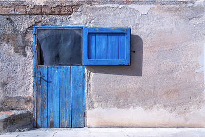 Blue Door Art Print by Joana Kruse