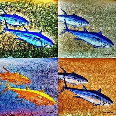 Blue Fin Tuna Original by Scott D Van Osdol