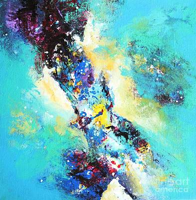 Painting - Blue Harmony by Sanjay Punekar