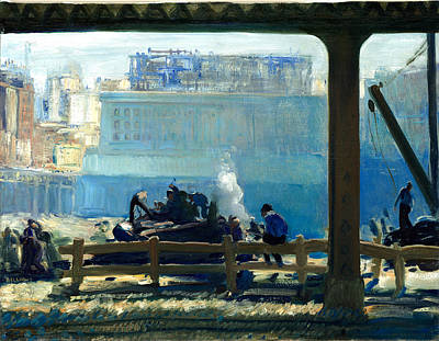 Photograph - Blue Morning by George Bellows