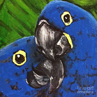 Painting - 2 Blue by Norma Gafford