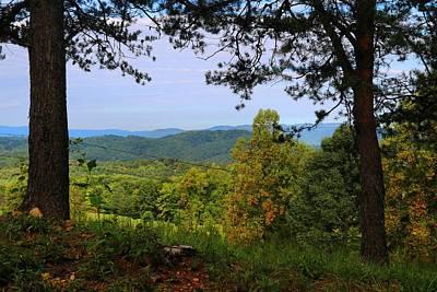Photograph - Blue Ridges by Kathryn Meyer