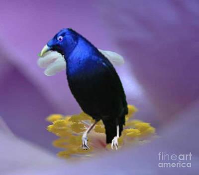 Painting - Blue Royalty by Belinda Threeths