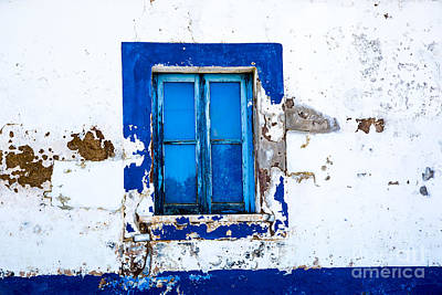 Photograph - Blue Window by Rick Bragan