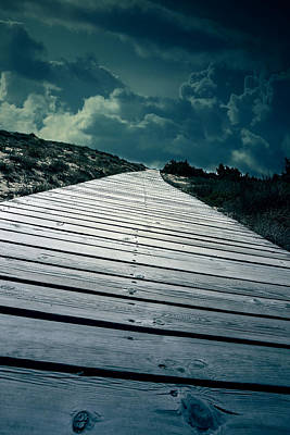 Boardwalk Print by Joana Kruse