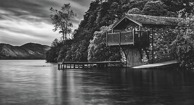 Photograph - Boathouse In Scotland by Pixabay