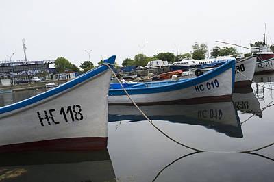 Superhero Ice Pops - Boats at mooring by Igor Sinitsyn