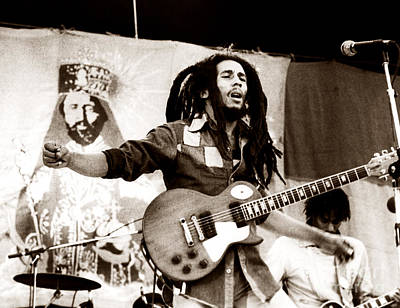 Bob Marley Photograph - Bob Marley 1979 by Chris Walter