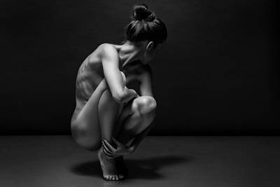 Nude Woman Torso Photograph - Bodyscape by Anton Belovodchenko