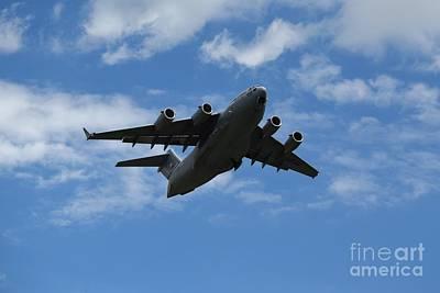 Photograph - Boeing C-17a Globemaster IIi At Martinsburg by Ben Schumin