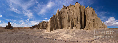 Photograph - Bolivia Rock Pinnacles Panorama by Warren Photographic