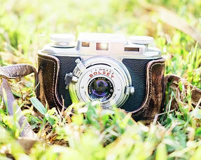 Rangefinder Photograph - Bolsey B Rangefinder Camera by Jon Woodhams