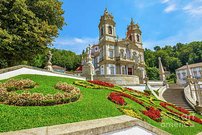 Photograph - Bom Jesus Do Monte Braga by Benny Marty