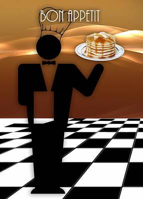 Mixed Media - Bon Appetit by Marvin Blaine