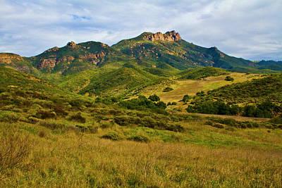Mountins Photograph - Boney Mountain by Arthur Bohlmann