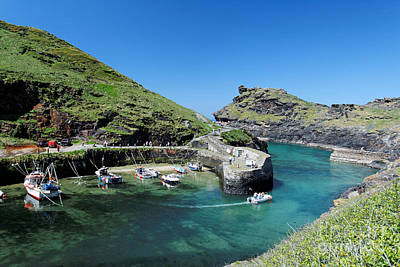 Kernow Photograph - Boscastle by Carl Whitfield