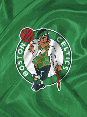 Boston Celtics Art Print by Afterdarkness