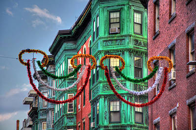 Photograph - Boston North End Italian Festival by Joann Vitali