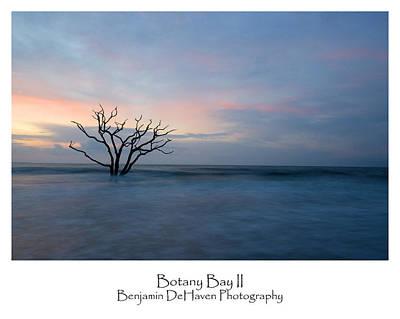 Reflection Photograph - Botany Bay II by Benjamin DeHaven