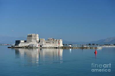 Photograph - Bourtzi Fortress by George Atsametakis