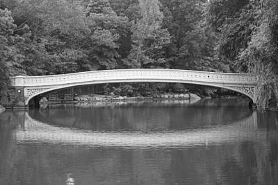 Photograph - Bow Bridge Central Park by Christopher Kirby