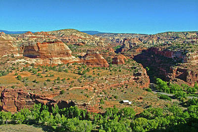 Photograph - Boynton Overlook On Highway 12  In Grand Staircase-escalante National Monument, Utah by Ruth Hager