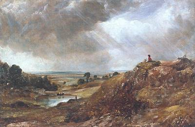 Branch Hill Pond Print by John Constable
