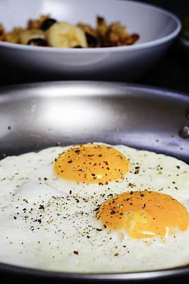 Breakfast Of Fried Eggs Art Print
