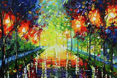 Painting - Bright Path by Kevin Brown