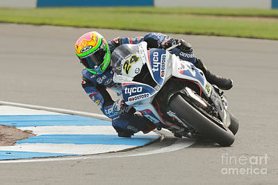 Bmw Racer Photograph - British Superbikes by Peter Hatter