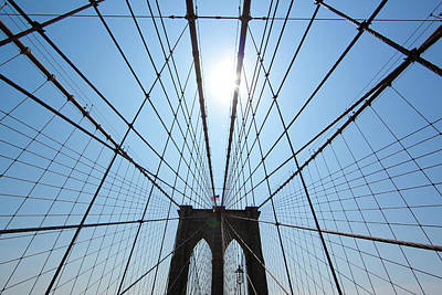Photograph - Brooklyn Bridge by John Magyar Photography