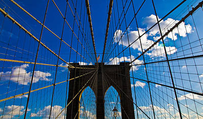 Brooklyn Bridge Art Print by Patrick  Flynn