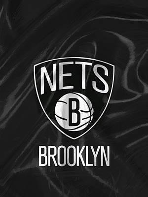 Brooklyn Nets Art Print by Afterdarkness