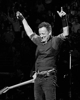 Bruce Springsteen Print by Jeff Ross