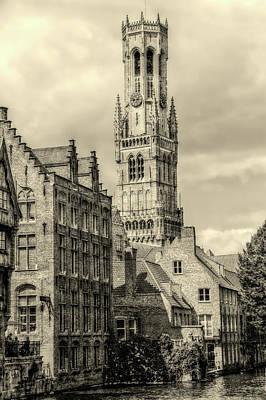 Photograph - Bruges Belfry by Pixabay