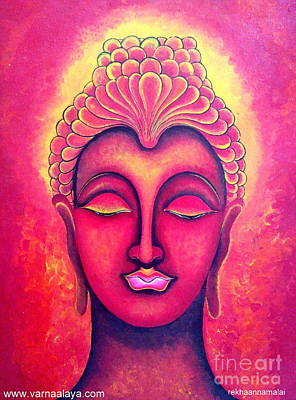 Painting - Buddha Painting by Rekha Artz