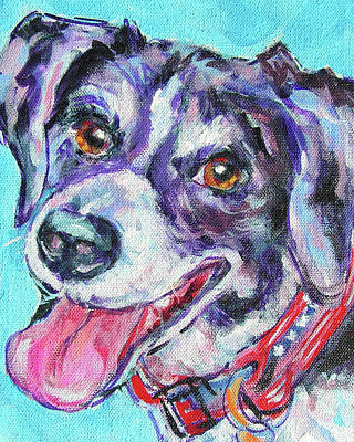 Painting - Buddy by Judy Rogan