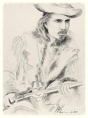 Buffalo Bill Art Print by Barbara Chase