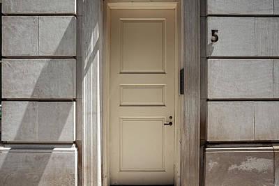 Photograph - Building Address Number by Robert Ullmann