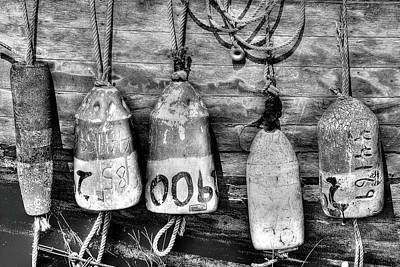 Photograph - Buoys by Dawn J Benko