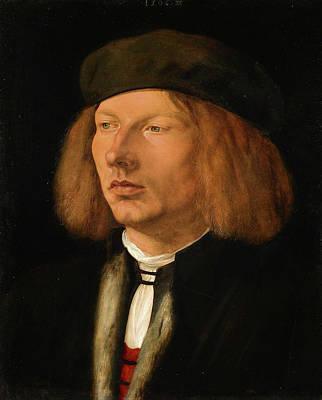 Renaissance Painting - Burkhard Of Speyer by Albrecht Durer