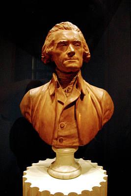 Venice Beach Bungalow - Bust of Thomas Jefferson  by LeeAnn McLaneGoetz McLaneGoetzStudioLLCcom