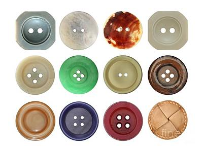 Photograph - Buttons by Michal Boubin