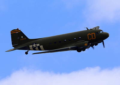 Photograph - C-47 Gooney Bird At Salinas by John King