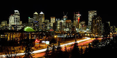 Photograph - Calgary Skyline by John McArthur