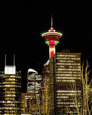 Photograph - Calgary Tower by John McArthur