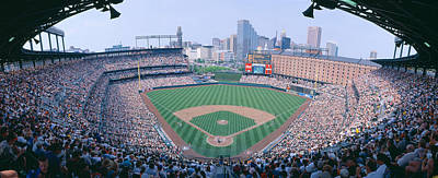 Camden Yard Stadium, Baltimore, Orioles Art Print by Panoramic Images