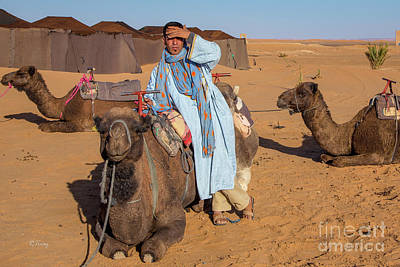 Photograph - The Camel Driver by Rene Triay Photography